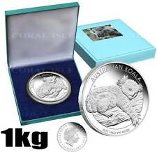 1 kg 99.9% Pure Solid Silver Australian Koala 2012 SOLD OUT Perth Mint Box COA