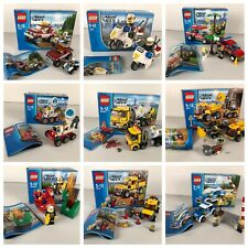 LEGO CITY COMPLET + BOX + INSTRUCTION A CHOISIR - TO CHOOSE