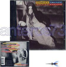 "GIANLUCA GRIGNANI ""DESTINO PARAISO"" CD IN SPAGNOLO 1995"