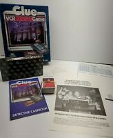 1985 Clue VCR Mystery Game Parker Brothers Complete