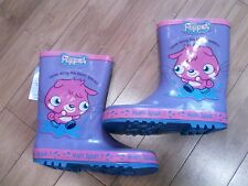 NEW Marks & Spencer Moshi Monsters - Pink Poppet Wellington Boots - Sizes 3