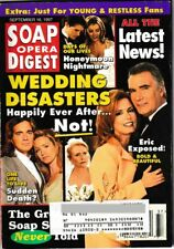 SOAP OPERA DIGEST September 16, 1997 Tracey Bregman, John McCook, Christie Clark