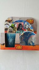 Star Wars 3 Piece Dinnerware Set w