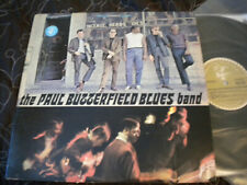 THE PAUL BUTTERFIELD BLUES BAND 1st MEGARARE ORIG'65 STEREO LP GUITAR PLAYER LBL