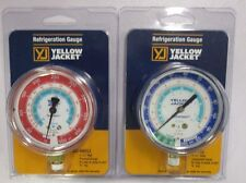 """YELLOW JACKET 2-1/2"""" R134a/404A/507 GAUGE'S 49051/49052"""
