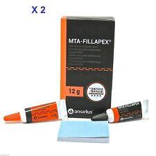 MTA Based root canal sealer x 2 Fillapex Endodontic Sealer Kit 12g Dental Supply