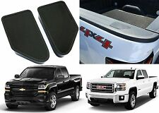Bed Rail Stake Pocket Caps For 2014-2017 Silverado Sierra New Free Shipping USA