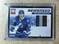11-12 Panini Elite New Breed #48 VICTOR HEDMAN 4 Color Patch /25