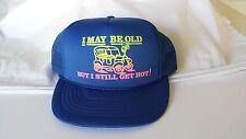 """Vintage Retro Trucks Old School Snap Back Foam Great Condition """"I still get Hot."""