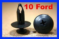 10 Ford wheel arch mud flap plastic fastener clips