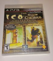 Ico & Shadow Of The Colossus HD Collection US Version R1 NEW Sealed PS3 RARE