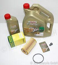 6L Castrol 5W30 EDGE FST Longlife + MANN Ölfilter HU 719/6 x AUDI/SKODA/VW/SEAT