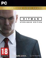 Hitman: la primera temporada completa Steelbook Edición (Pc-Dvd) Nuevo Sellado