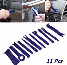 11pcs Blue Nylon Car Door Trim Panel Dash Audio Stereo GPS Molding Removal Tools