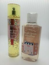 bath and body works bright lemon snowdrop shower gel and fine fragrance mist set