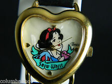 Disney Snow White Collectible  watch Leather Band
