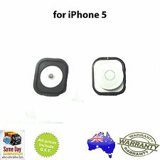 for iPhone 5 - HOME BUTTON ASSEMBLY WITH RUBBER GASKET AND METAL SPACER - WHITE