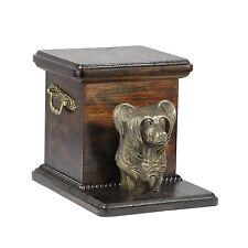 Chinese Crested, dog urn made of cold cast bronze, ArtDog, UK - kind2