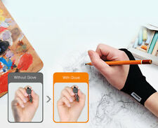 dodolab Artist Design Anti Fouling Two Finger Glove For Pencil Drawing Small