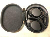 Sony WH-1000XM3 Wireless Noise-Canceling Headphones - Black