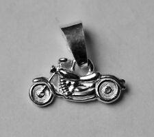 Silberanhänger - Chopper - Motorrad - Moped - Neu - 925 Sterling Silber - Silver