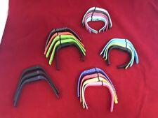 Lot Of 21 Fit Bit Bracelets Black Green White Polka Dot With Clasps Z1