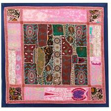 Vintage Tapestry Indian Handmade Art Wedding Gift Patchwork Wall Hanging