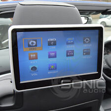 Universal 12v Car Tablet-Style HD Touch-Screen Headrest DVD Player USB/SD/Games