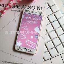 """Tempered Glass Film Cartoon Cute Screen Protector Cover For iPhone 7 4.7"""" UK"""