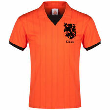Camisetas de fútbol de manga corta naranja talla XXL