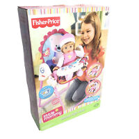 Fisher Price Little Mommy Nurture Love Grow Deluxe High Chair Collection Toy NEW