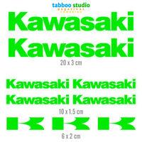 9 Adesivi Kawasaki Moto casco Stickers carena serbatoio z1000