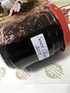 Homemade Sour Cherry Jam. Grandma Recepie. No Conservantes No Hemicals! Sweet!