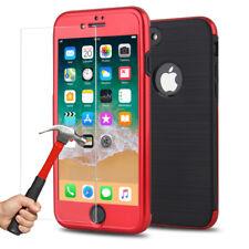Coque Houss 360 Armure Antichoc iPhone 6S 6 7 Plus 8 X + Film Ecran Verre trempé