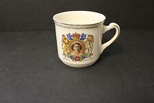 Vintage Queen Elizabeth Coronation June 2, 1953 Coffee Mug Weatherby England