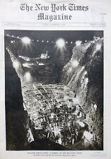 BOULDER DAM GENEVA MIRABAI - GHANDHI MOUNTIE PERSIA 11-1934 November 4 NY TIMES