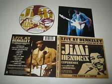 JIMI HENDRIX EXPERIENCE/LIVE AT BERKELEY(EXPERIENCE/0602498607527)CD ALBUM