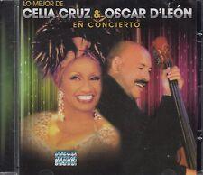 Oscar D leon y Celia Cruz Lo Mejor CD New Nuevo sealed