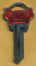 WK-1 KEY BLANK KEY RED PLASTIC COVER