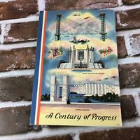 1934 World's Fair Chicago Souvenir Book Kaufman's & Fabry Co