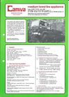 Forest Fire Equipment Brochure - Camiva CCMF 75.130 Renault Truck - 1982 (DB317)