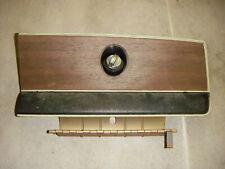1975 Duster Dart glove box door w/ hinge & cable a body wood grain 73 74 ?