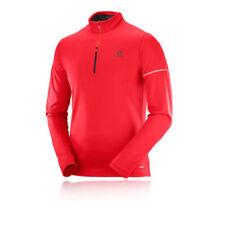 Abbiglimento sportivo da uomo traspirante rosso sintetico