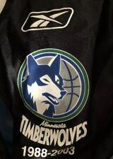 944707dd52f Minnesota Timberwolves  15 NBA Football Reebok Jersey XL 15th Anniversary  2003
