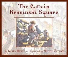 The Cats in Krasinski Square by Karen Hesse (children's hardcover book)