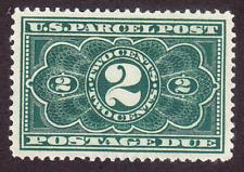 US Scott JQ2 old 2c Parcel Post Postage Due stamp M/NG/VF CV $65