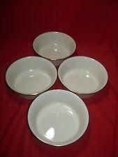 Lenox China Eternal Set of 4 Fruit Bowls
