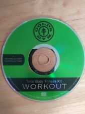 GOLDS GYM TOTAL BODY FITNESS KIT Workout DVD