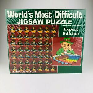 World's Most Difficult Jigsaw Puzzle Leprechauns Luck Expert Edition 500 Pieces
