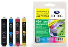 HP364 Black, Cyan, Magenta, Yellow Multipack Remanufactured Ink by JetTec